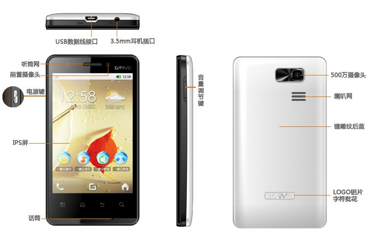 Gfive Android Mobile
